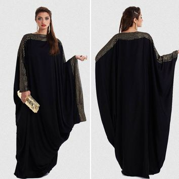 Elegant Loose Abaya Kaftan Islamic Fashion