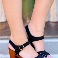 Love To Love You Heels-Black