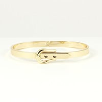 MINI GOLD BELT BUCKLE BANGLE BRACELET