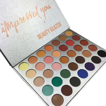 Chic 35 Color New Face Makeup Jacly Hill Eyeshadow Palette Shades Shimmer Matte Eyeshadow Pallete Cosmetics For morphes Style