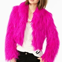 Wild Child Faux Fur Coat