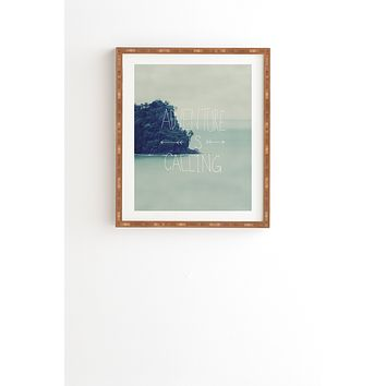 Leah Flores Adventure Island Framed Wall Art