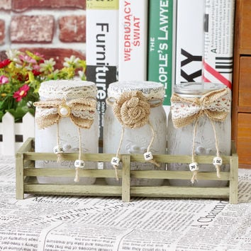 Decoration Vintage Glass Creative Gifts Home Decor [6282378694]