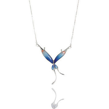 Franz Collection Butterfly Necklace