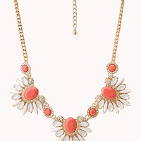 Touch-Of-Glam Faux Stone Necklace