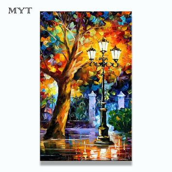 BA Oil Painting 100% Hand-painted Modern Design Knife Oil Canvas Painting Big Size Landscape Oil Paintings On Canvas No Framed