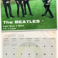 Beatles, The 2014 Wall Calendar