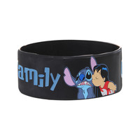 Disney Lilo & Stitch Family Rubber Bracelet