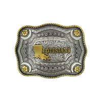 Cody James® Dual Tone Louisiana Buckle