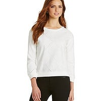 Sanctuary Clothing Diamond Dreamer Sweater - Winter White