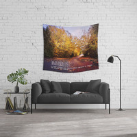 wanderlust Wall Tapestry by Sylvia Cook Photography