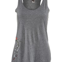 RollerBones Derby Skeleton Women's Tank