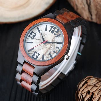 Creative Handmade Bamboo Wooden Watch