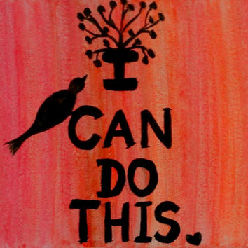 Quotes About Painting Interesting Inspirational Canvas Quotes Bird Painting From Preethiart