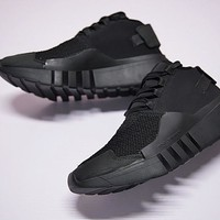 "17FW Adidas Y-3 Ayero Running Shoes ""Black Net"" CG3171"