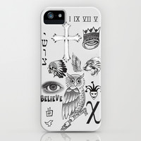 Justin tattoos iPhone & iPod Case by The Bieber Shop! | Society6