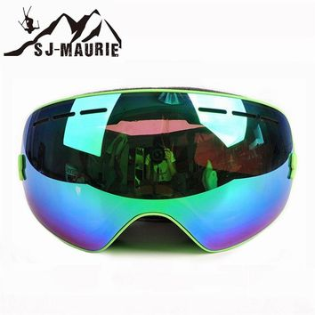Ski Goggles Double Layer PC Lens Men Women Anti-fog UV 400 Protection Skiing Eyewear Myopia Frame Snowboard Glasses