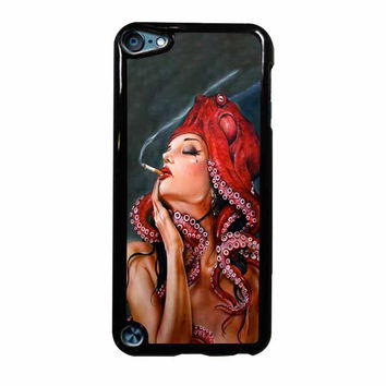 Octopus Tattooed Sigaret iPod Touch 5th Generation Case