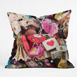 Catherine McDonald What The World Needs Now Outdoor Throw Pillow