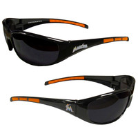 Miami Marlins Wrap Sunglasses