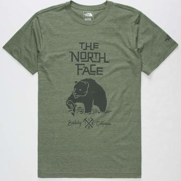THE NORTH FACE Grizzly Tri-Blend Mens T-Shirt | Graphic Tees