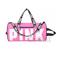 NEW Victoria's PINK Sport Tote Bag Large Gym Duffel Bag Shopping Bag
