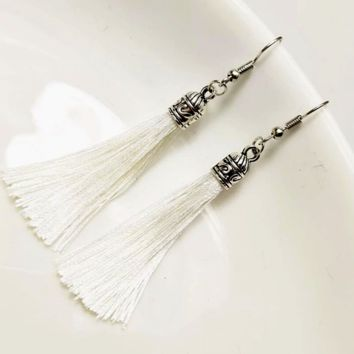 Dangling Bohemian Tassels Earrings