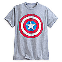 Captain America Shield Tee for Men
