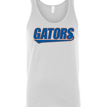 Official NCAA University of Florida Gators The Orange and Blue GATOR NATION! Tank Top