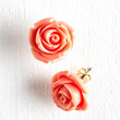 ModCloth Vintage Inspired Retro Rosie Earrings