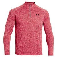 Under Armour Tech Quarter Zip for Men in Red 1242220-600