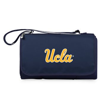 UCLA Bruins 'Blanket Tote' Outdoor Picnic Blanket-Navy Digital Print