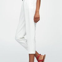 Tailored fit jogger trousers - Trousers - Clothing - Woman - PULL&BEAR United Kingdom