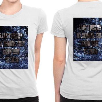 Bring Me To The Horizon Bmth I Can Not Drown My Demons B 2 Sided Womens T Shirt