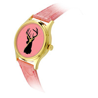 Ladies Reindeer Watch Head