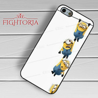 hanging together minion-144 for iPhone 4/4S/5/5S/5C/6/ 6+,samsung S3/S4/S5,S6 Regular,S6 edge,samsung note 3/4