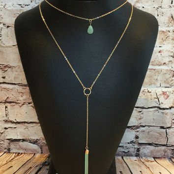 No Other Way Necklace: Mint