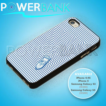 Blue Nautical Boat - iPhone 4/4s/5 Case - Samsung Galaxy S3/S4 Case - Black or White