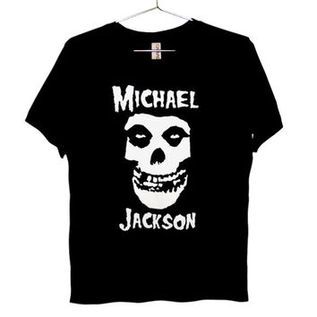 Misfits Michael Jackson T-Shirt - King Of Punk UNISEX sizes S, M, L, XL