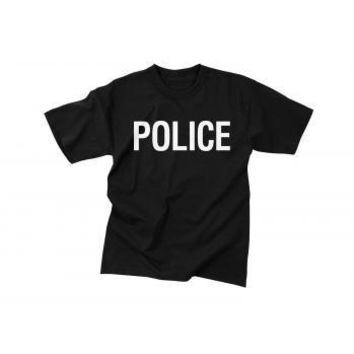 2-Sided Police T-Shirt