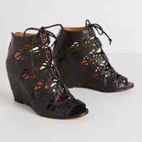 Shandy Cutout Wedges by Dolce Vita Black