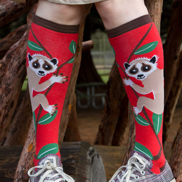 Sock Dreams - Slow Loris Knee High
