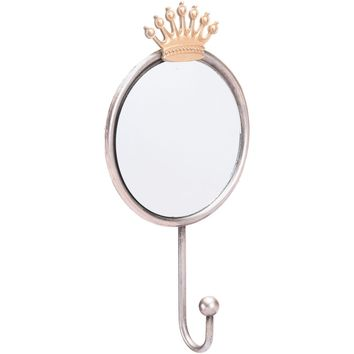 Antique Crown Wall Mirror