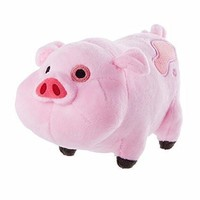 Gravity Falls Pink Pig Waddles Plush Toy 16CM 1pcs [Toy]