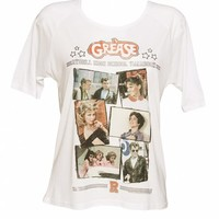 Ladies Grease Rydell High Yearbook 3/4 Sleeve Raglan T-Shirt : TruffleShuffle.com
