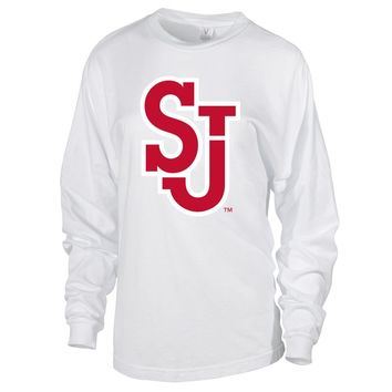 NCAA St. John's Red Storm RYLSTJ06 Women's Long Sleeve Spirit Jersey Tee