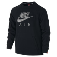 Nike Brushed-Fleece Flash Crew Boys' Sweatshirt