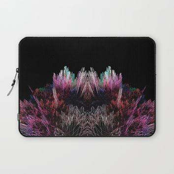 Sequins 3D Explosion Laptop Sleeve by PICTO