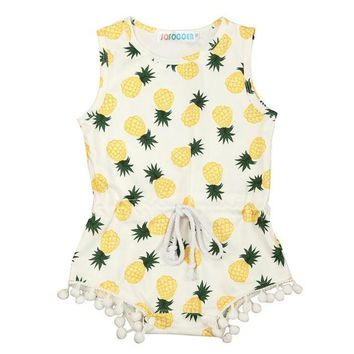 Maui Pineapple Romper