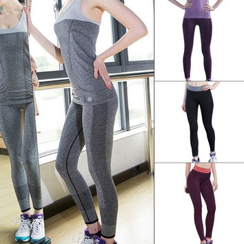 Summer Style Women Sports Pants For Running Fitness Gym Quick Drying Trousers Outdoor Leggings = 1705745668